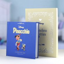 Pinocchio Timeless Disney Book.. Personalised